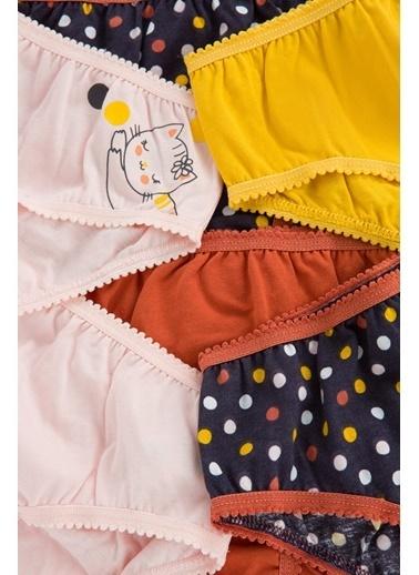 Penti Kız Çocuk Confettı 6Lı Slip Külot Renkli